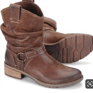 Sofft Adan Brown slouchy Boots